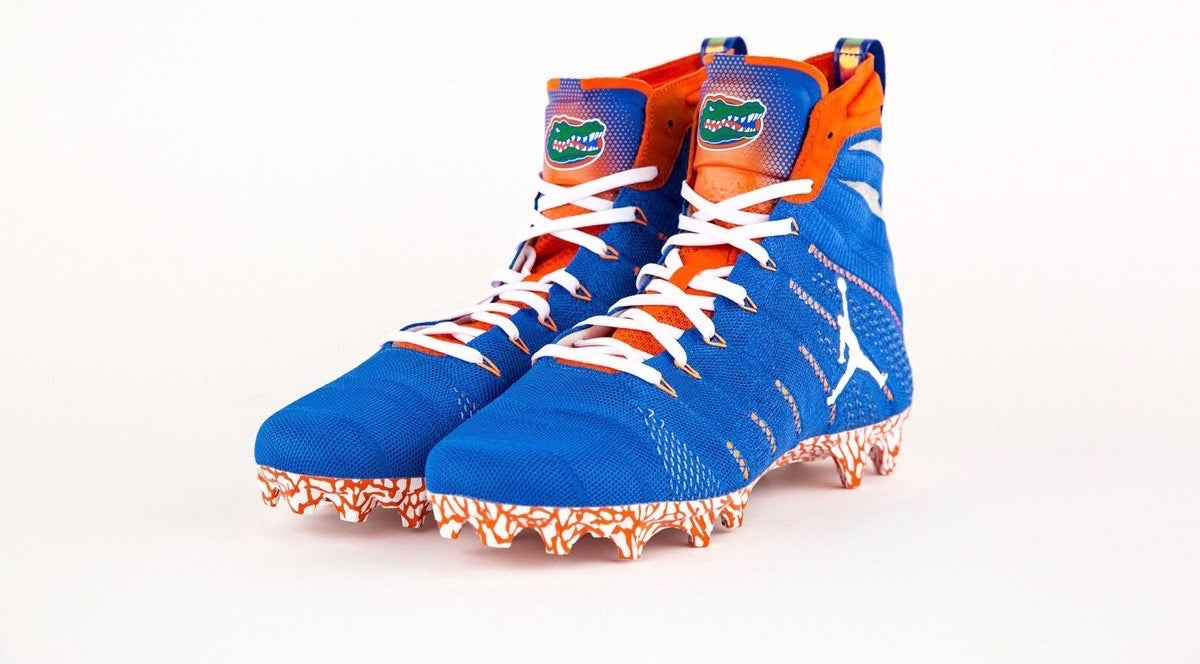 Gators show off new cleats for upcoming
