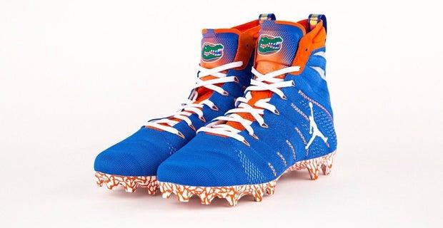 Gators show off new cleats for upcoming season North Carolina Football Shoes