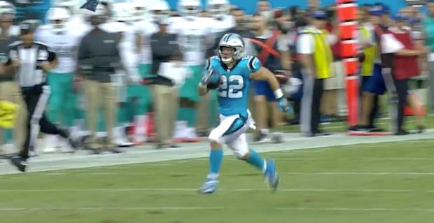 Christian McCaffrey runs for 71 yard touchdown