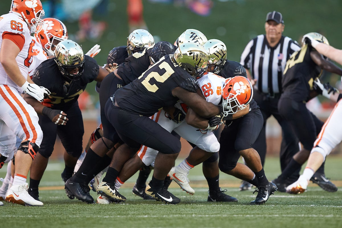 Williams prepares for return to Wake Forest defensive line