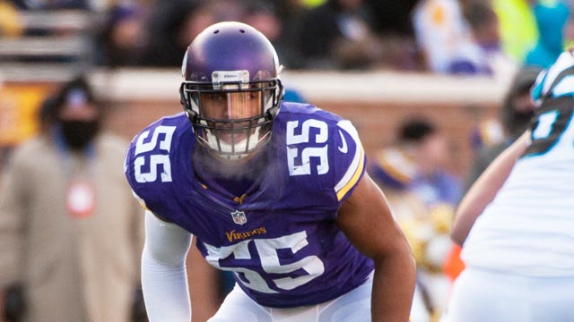 Anthony Barr trade rumor shot down by Mike Zimmer