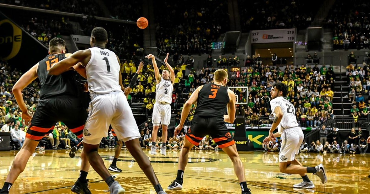 Oregon projected as a top seed by multiple Bracket Projections