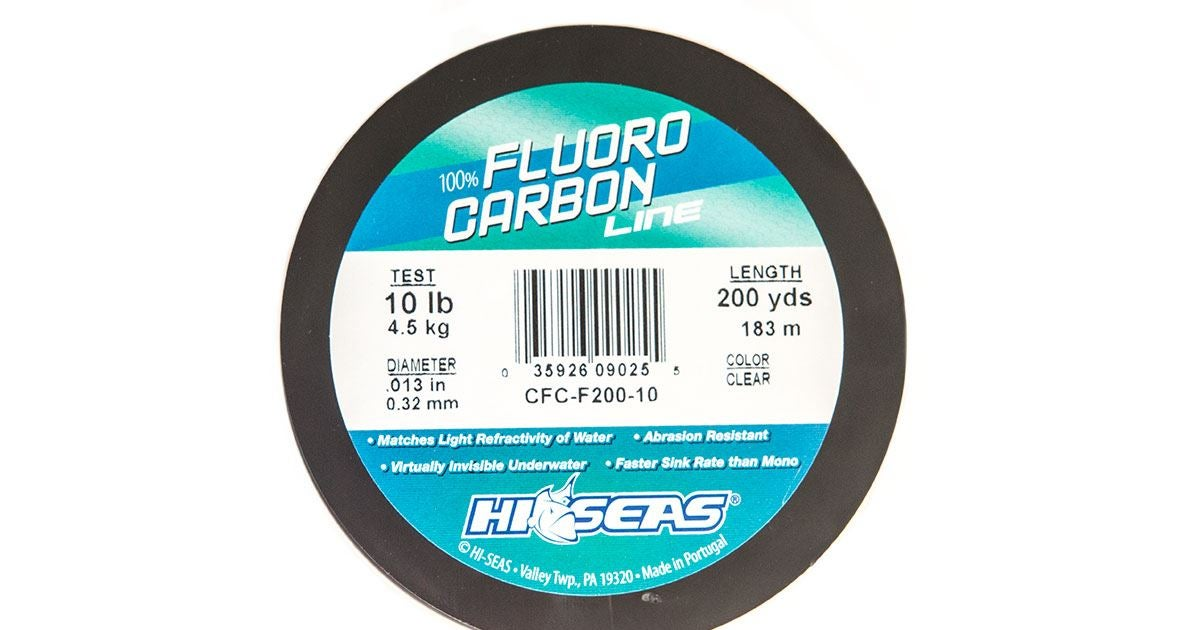 Hi seas 100 fluorocarbon fishing line review for Hi seas fishing line
