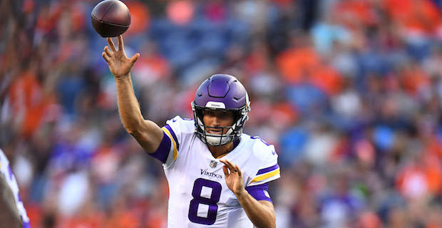 Kirk Cousins, Vikings first-team offense flawless in debut