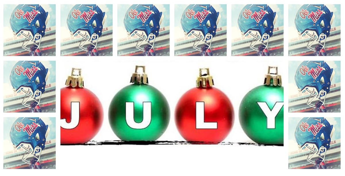 Column: Christmas In (Almost) July Wish List For Rebel Football
