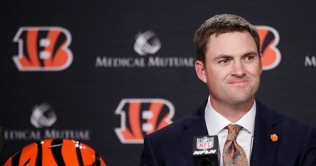 Bengals coach comments on quarterback Joe Burrow