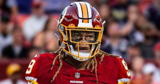 Look Chase Young Posts Image Of Himself In Redskins Uniform