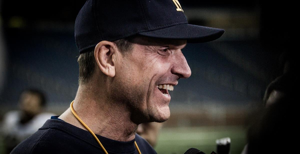 On his own expectations for the Michigan job