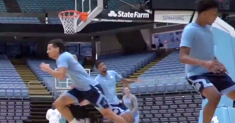 Watch: UNC Basketball Conditioning Test Day