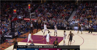 WATCH: Larry Nance throws down alley-oop from Rodney Hood