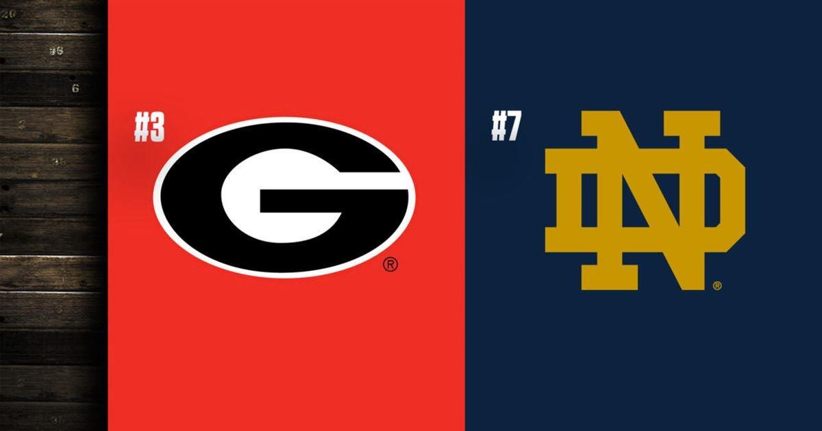 Let's Talk Ball: Notre Dame vs. Georgia
