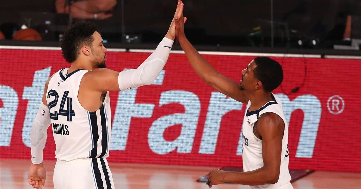 Dillon Brooks helps pace Grizzlies to first Orlando victory