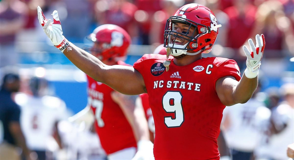 97f834cc754 Broncos select Bradley Chubb with No. 5 pick in 2018 NFL draft