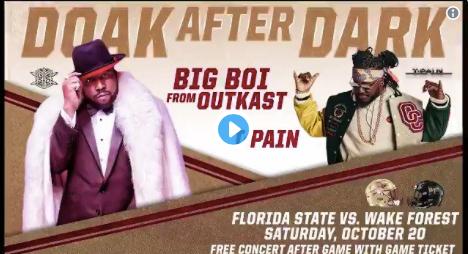 FSU makes 'Doak After Dark' concert announcement