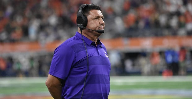 LSU's New Year's Six Bowl Chances