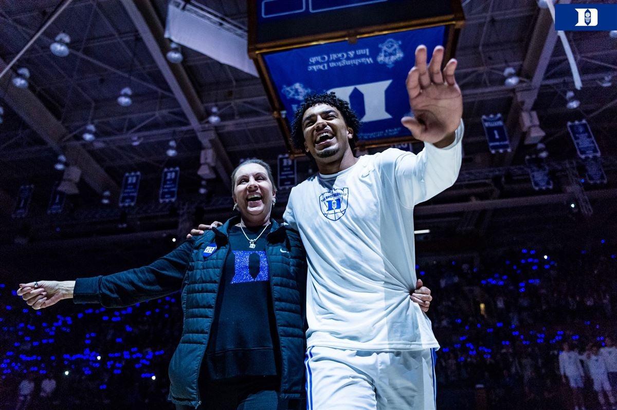 Tre Jones' mom talks emotional moment at Duke's Midnight Madness