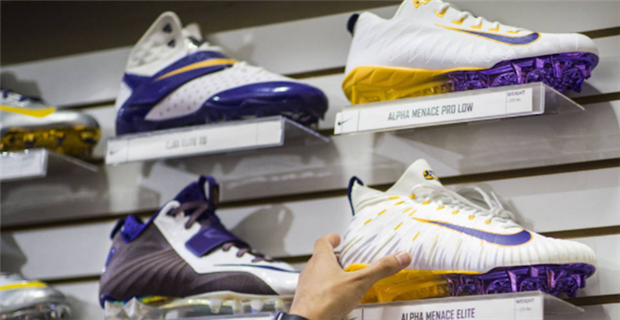 LSU Tigers' 2017 Nike cleat options are