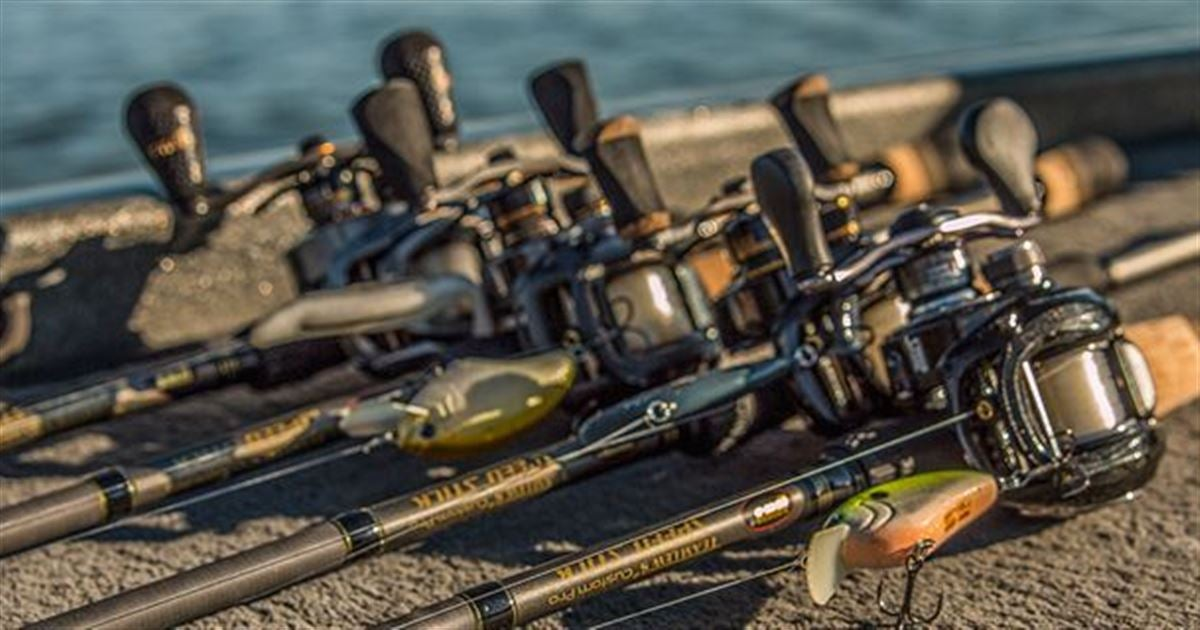 First look team lew 39 s pro speed stick lfs x5 casting rod for Lews fishing apparel