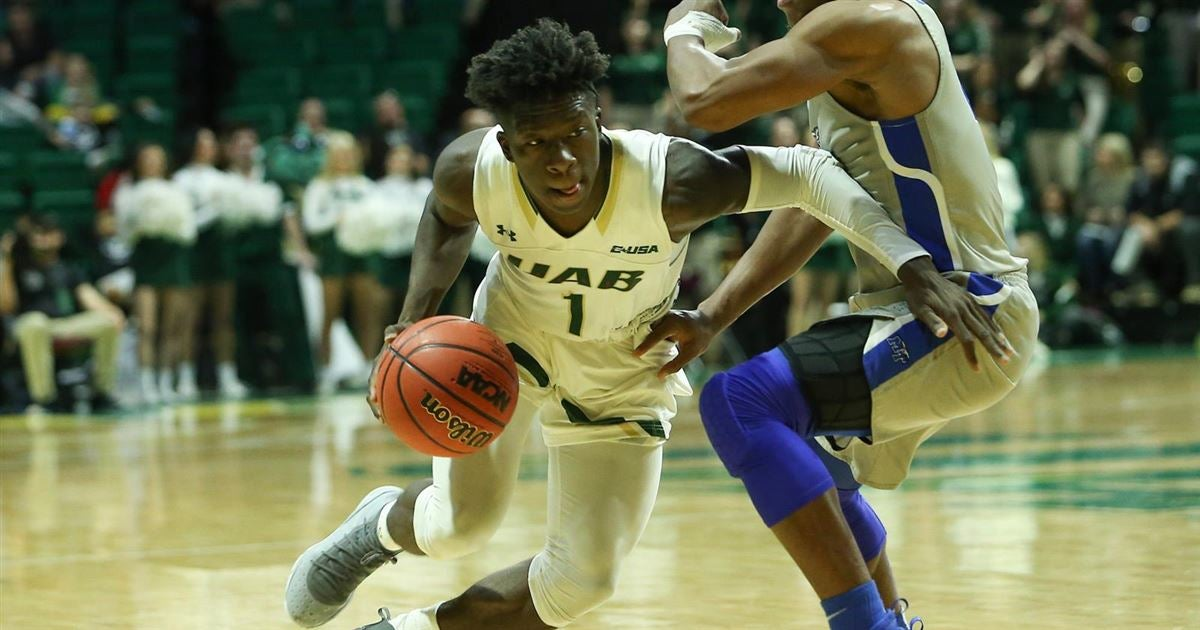 UAB's men's basketball team ends a quick two-game trip to Florida on Saturday night at FIU