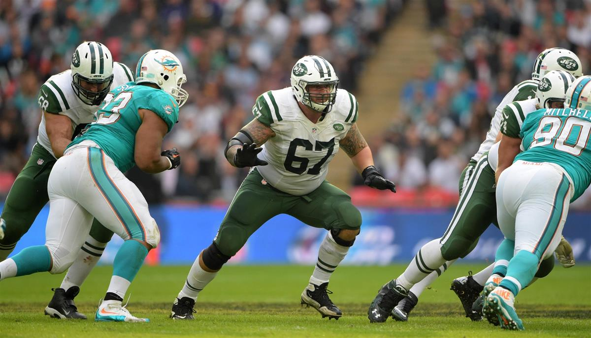 New York Jets place Brian Winters on IR