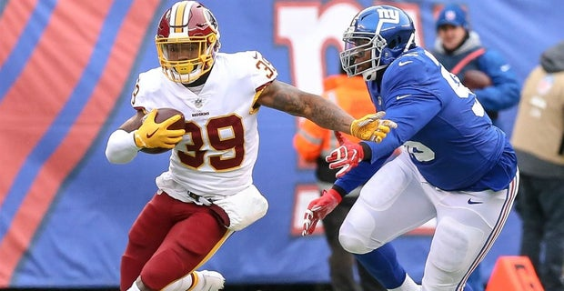 Washington Redskins waive running back Keith Marshall