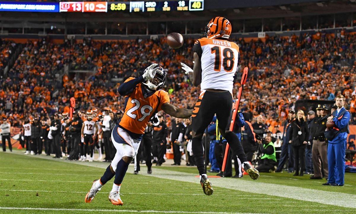 ada2339a110 5 key matchups to watch: Broncos vs. Bengals