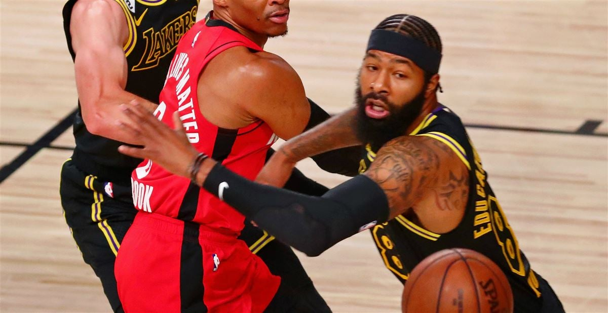 Markieff Morris Helps Lakers Past Rockets With Big Game 2 Outing