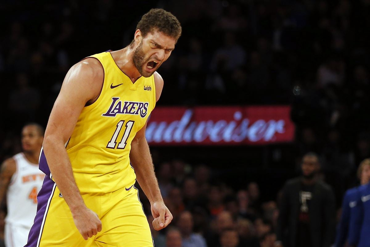differently 7c5df 7a653 Report: Lakers would be interested in bringing back Brook Lopez