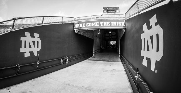 Notre Dame Recruiting Insider Tunnel Vision