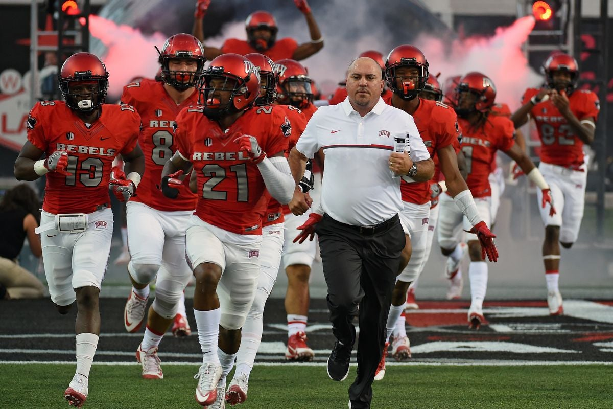 detailed look a884c 19de7 UNLV Football Program Looks to Rebound After 2018