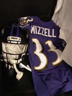 new arrival d0672 567ef LOOK: Taquan Mizzell's Baltimore Ravens jersey revealed