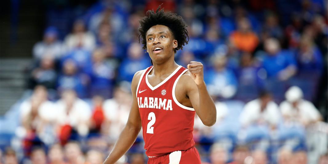 ebd0197ebd8 Alabama freshman Collin Sexton declares for 2018 NBA Draft