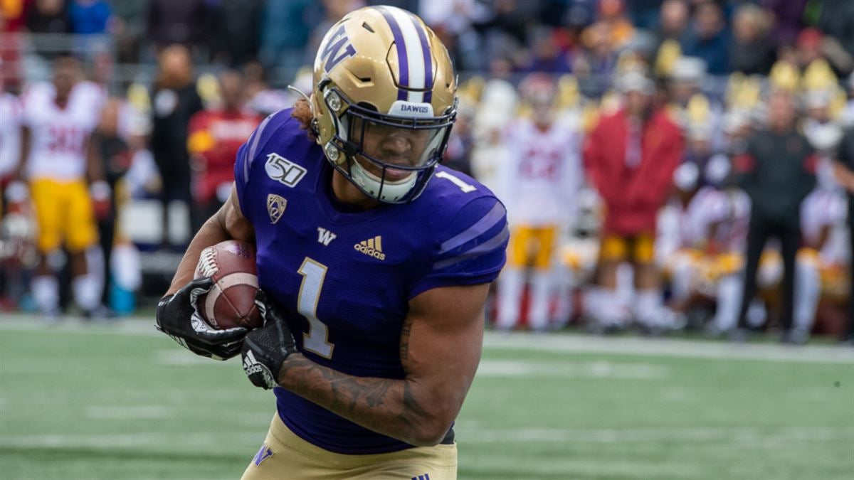 NFL Combine 2020: UW Tight End Hunter Bryant has measured in