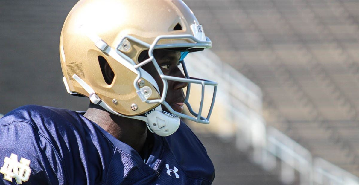 Notre Dame freshmen continue to impress at practice on Aug. 11