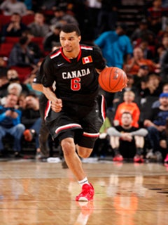 e29f46e02 Jamal Murray scored 30 points and was named the MVP of the Nike Hoop Summit.  (Photo  Cameron Browne USA Basketball.)