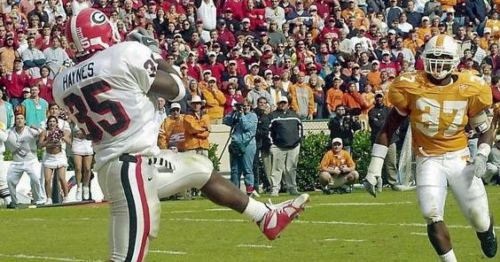 Georgia's five best victories over Tennessee
