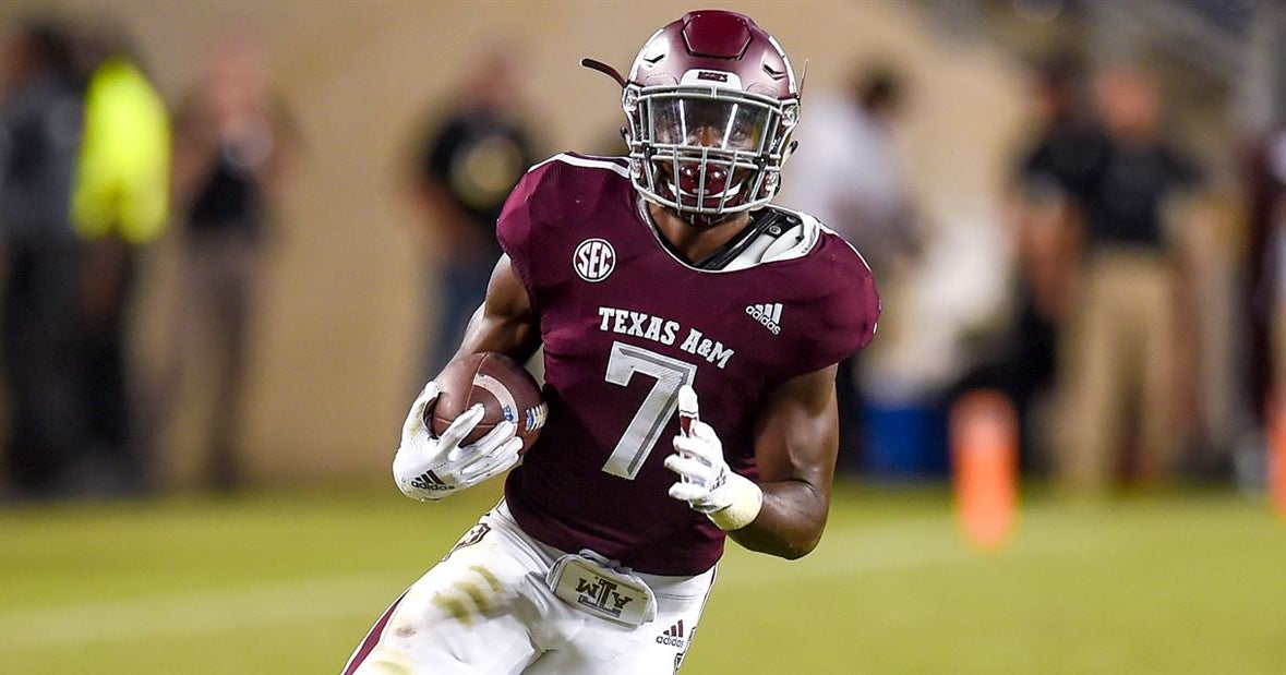 A&M offense depth chart: Uncertainty at the skill positions