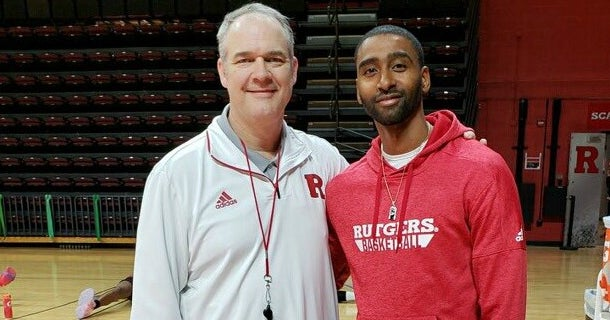 Quincy Douby back at The RAC and talking Rutgers Basketball