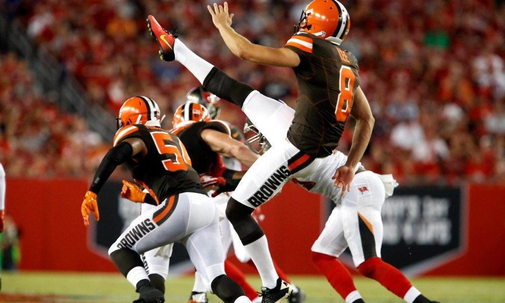 Andy Lee, Not SashiWarz - This Day In Cleveland Browns History