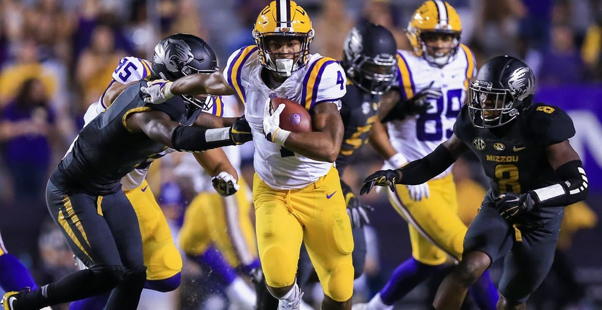 Nick Brossette staying patient, talks LSU offense