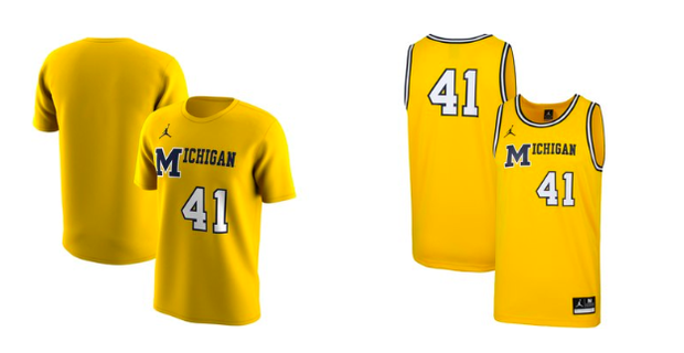 hot sale online 053b4 60a91 LOOK: Commemorative 1989 throwback Michigan jerseys leak online