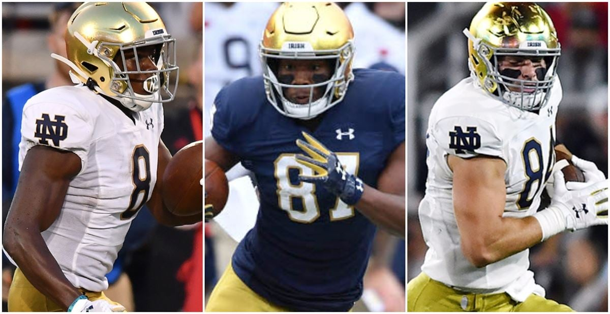 Together Again: Pieces Back In Place For Irish Offense