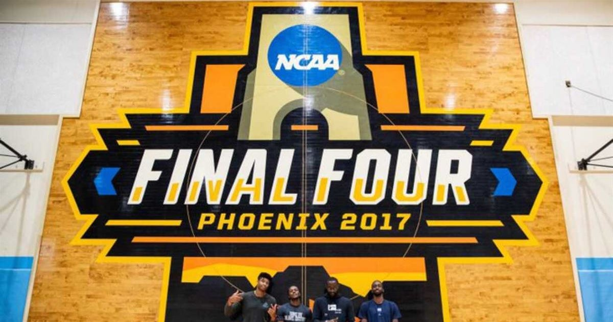 UNC Adds 2017 Final Four Court to Practice Gym
