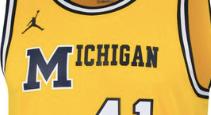 49176b08d48 LOOK: Commemorative 1989 throwback Michigan jerseys leak online