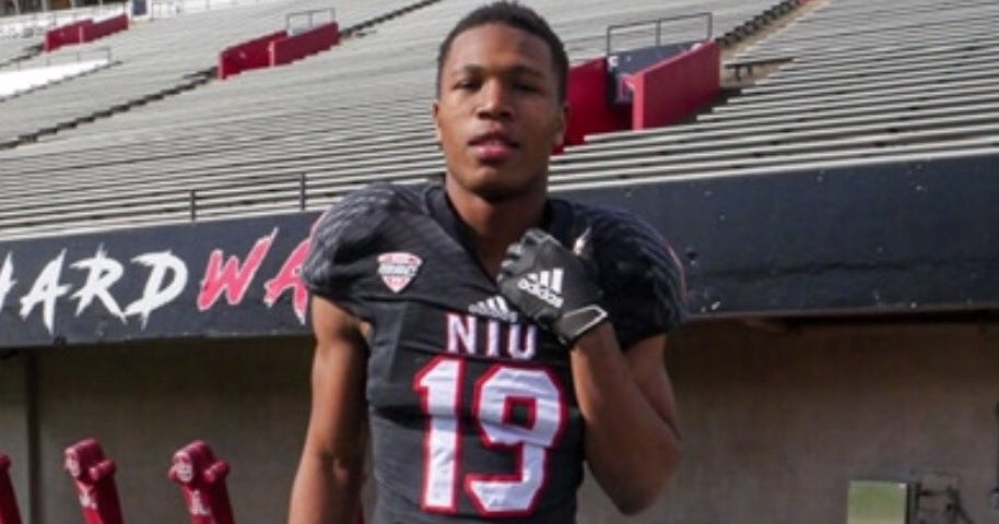 Speedy WR talks commitment to Northern Illinois