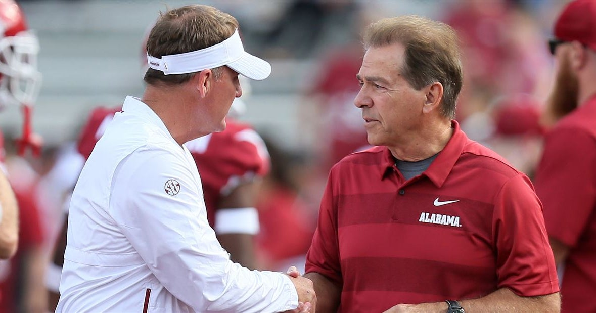 Saban refuses to overlook Arkansas