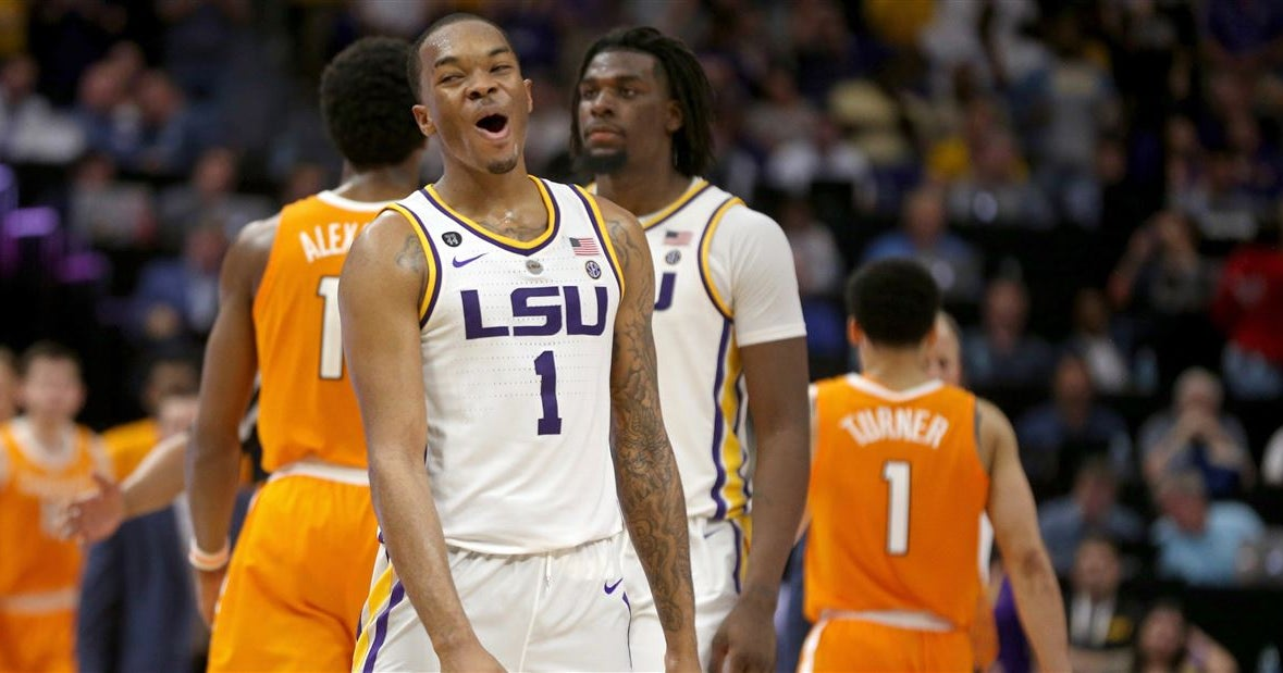 28054d75571 LSU lands No. 3 seed, to face Yale in NCAA Tournament