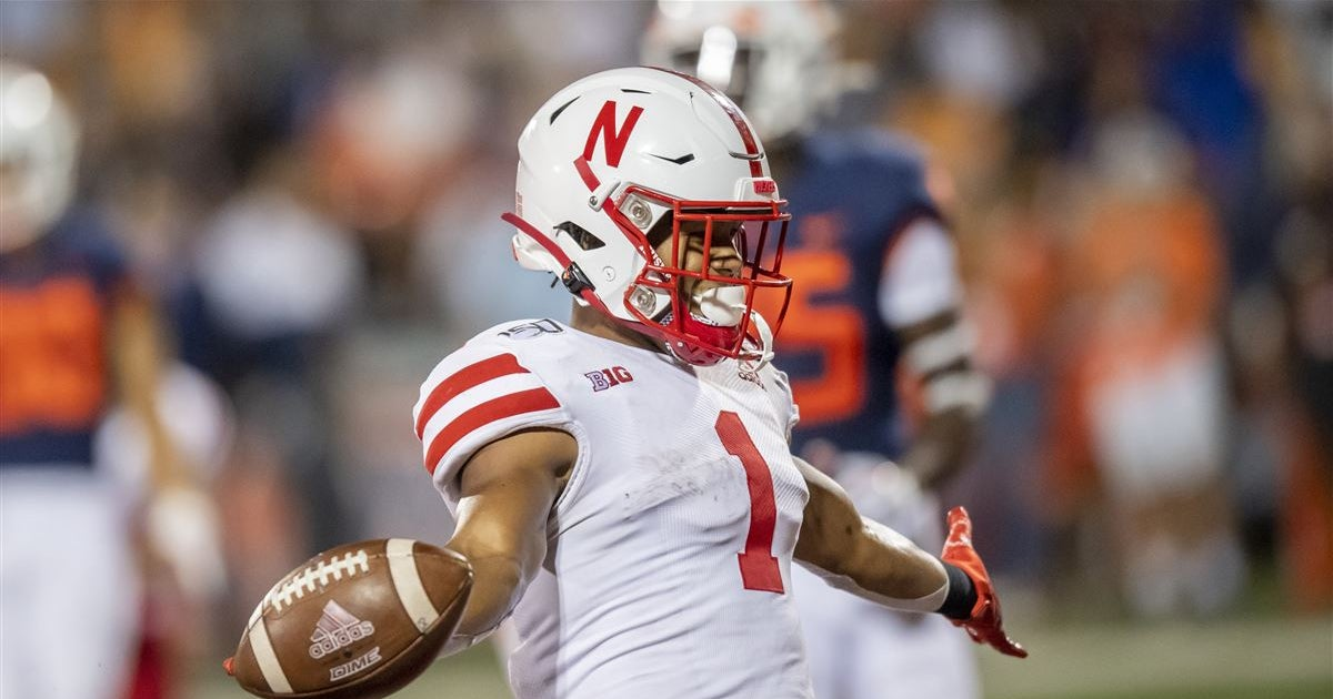 LOOK: Wan'Dale Robinson reacts to Nebraska opening at Ohio State