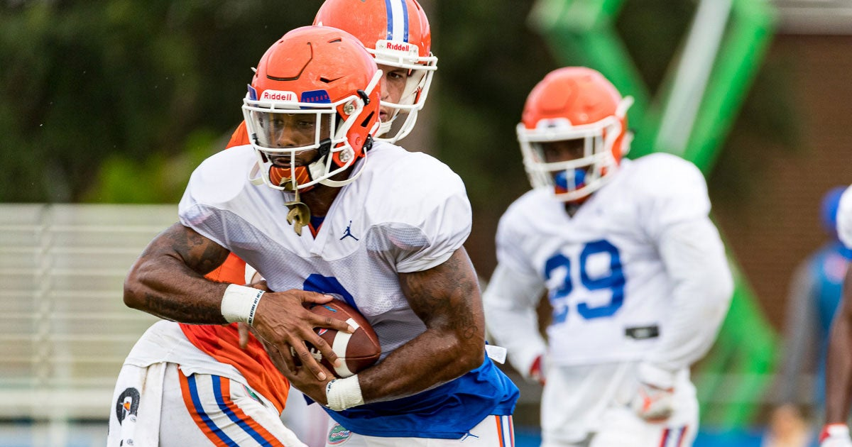 Perine's confidence evident in front of the cameras