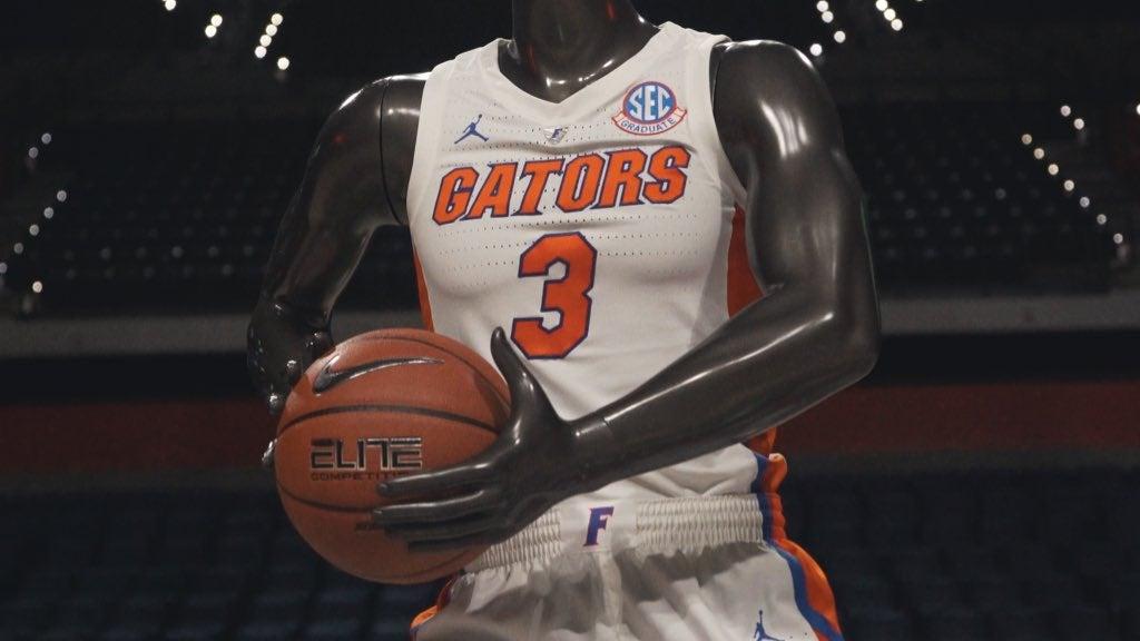 6e36a1f834301a LOOK  Gators unveil Jordan basketball jerseys